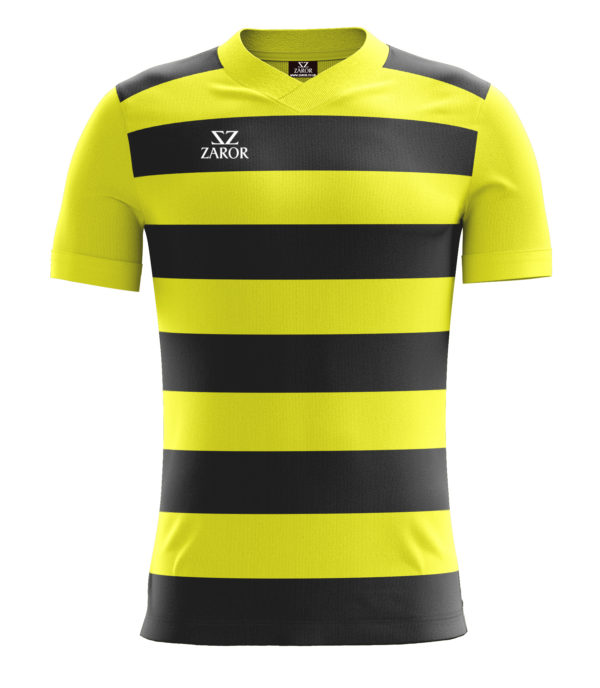 Zaror Hoop Football Shirt yellow_black