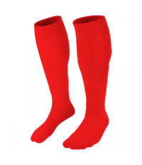 Zaror Plain Football Socks Red
