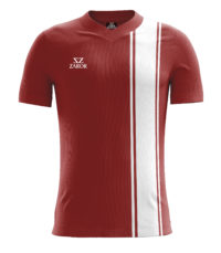 Louvre Football Shirt maroon_white