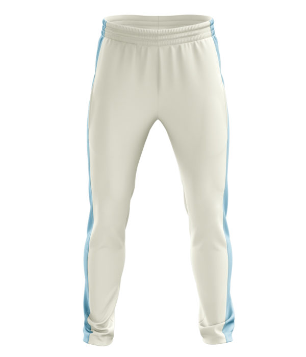 Zaror Matrix Cricket Trouser white_sky
