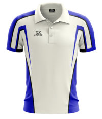 Zaror Oxford Cricket Shirt white_royal