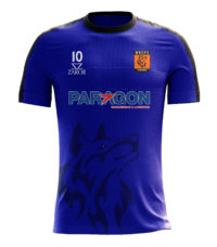 Zaror Blue Football Shirt For WSCFC